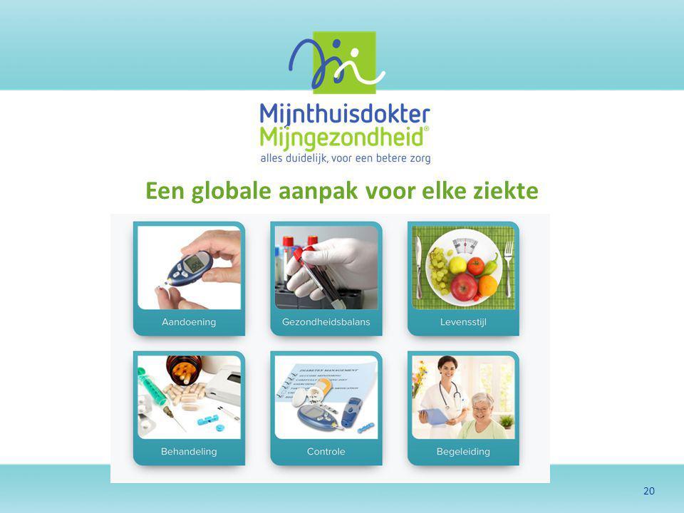 Een globale aanpak voor elke ziekte