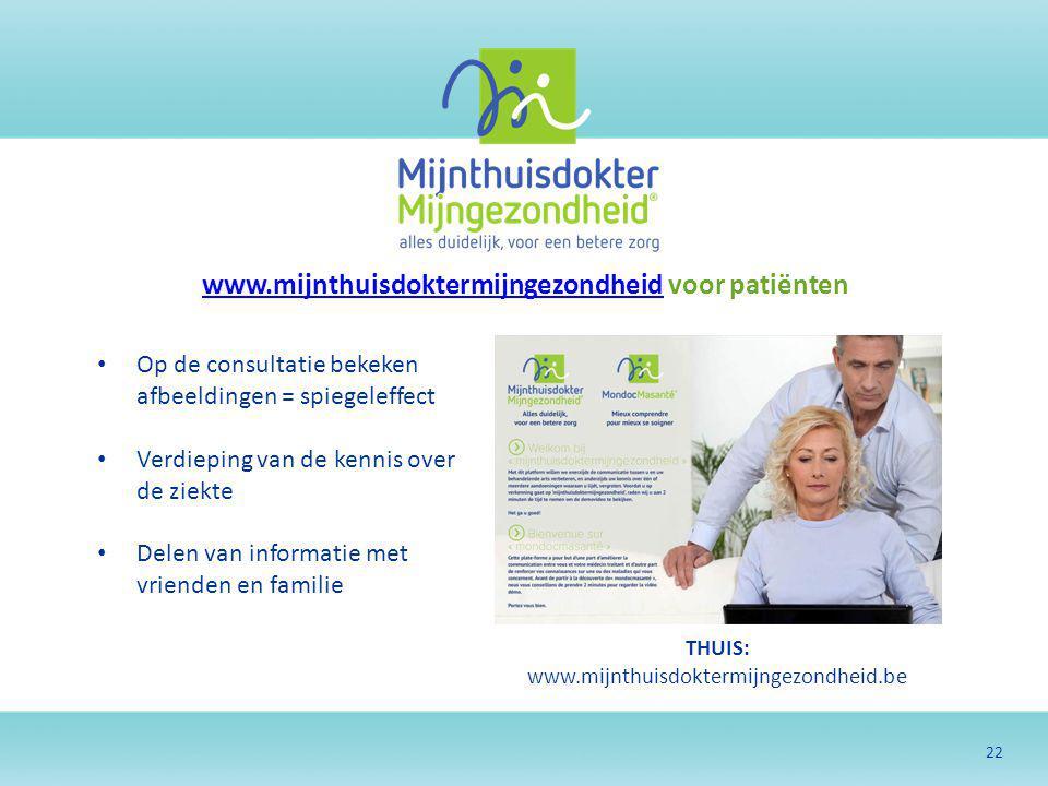 www.mijnthuisdoktermijngezondheid voor patiënten