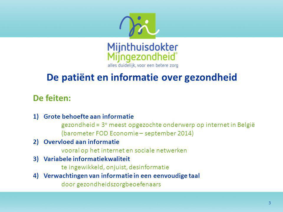 De patiënt en informatie over gezondheid