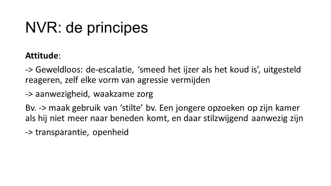 NVR: de principes