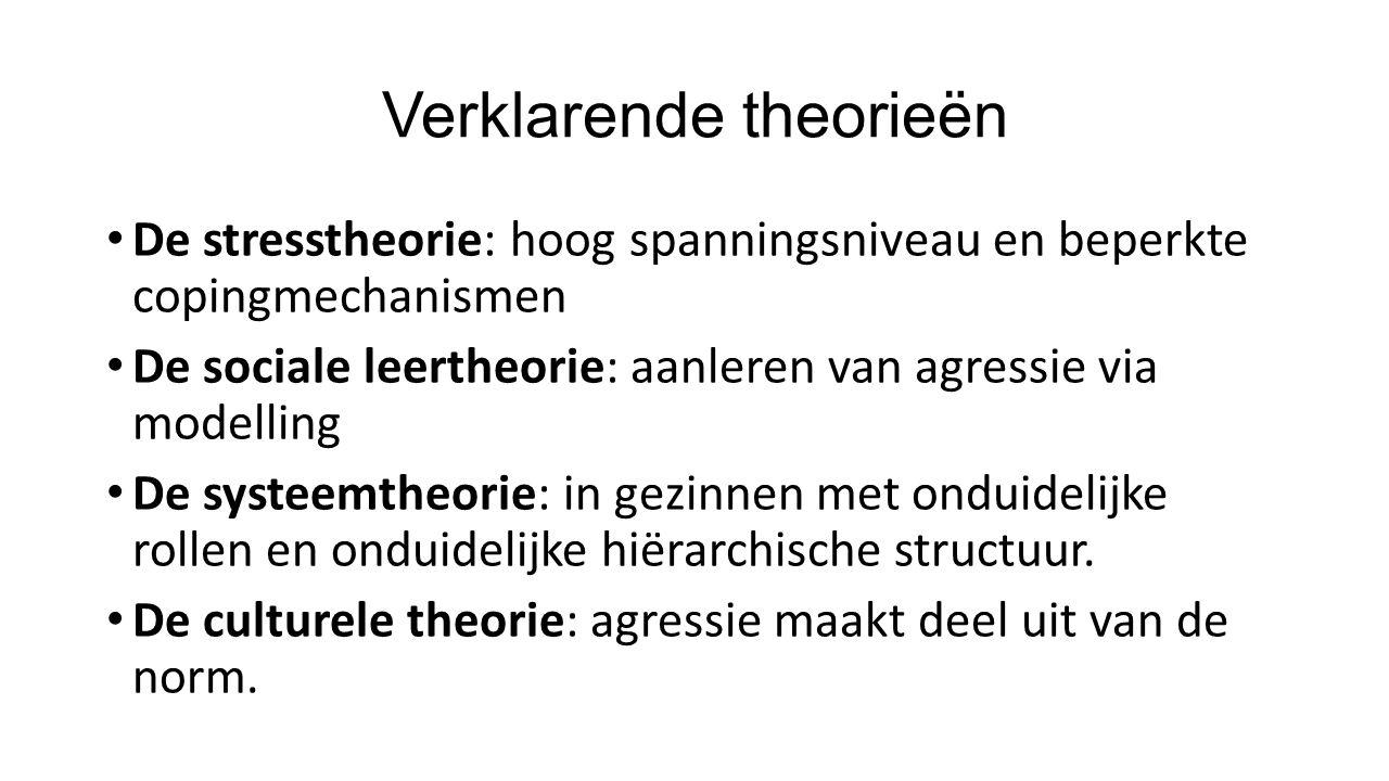 Verklarende theorieën