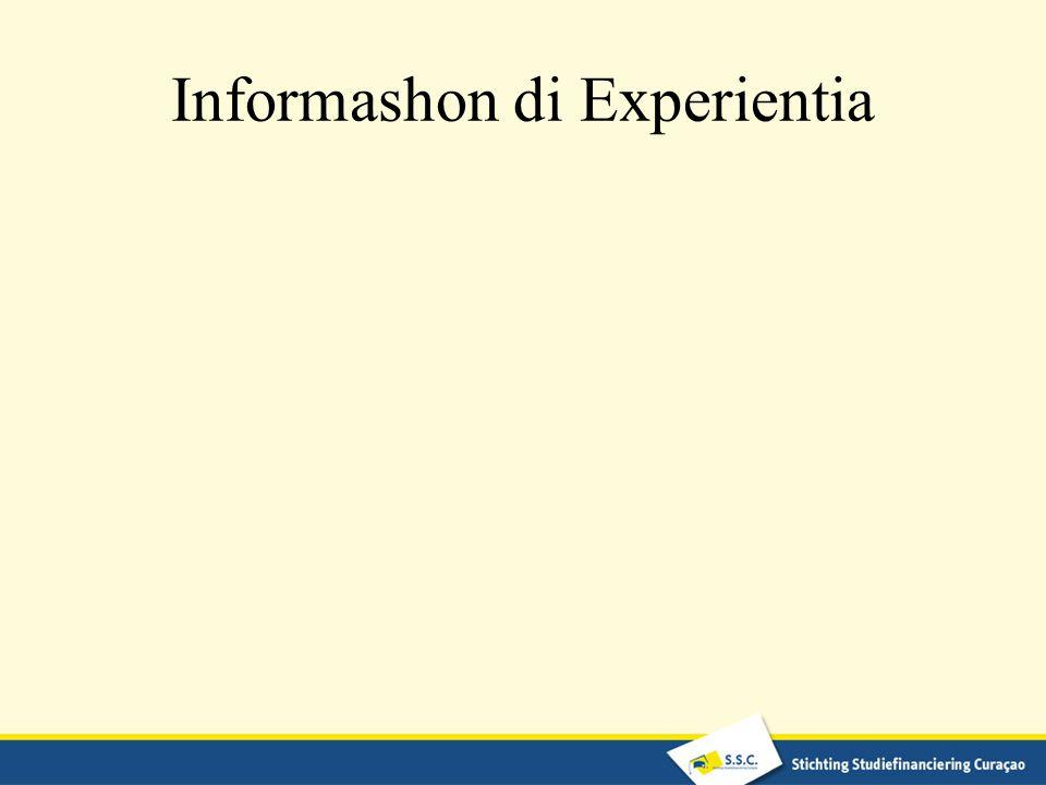 Informashon di Experientia
