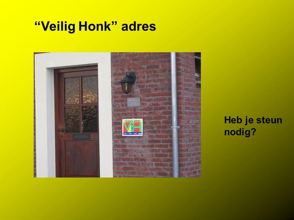 Veilig Honk adres Heb je steun nodig
