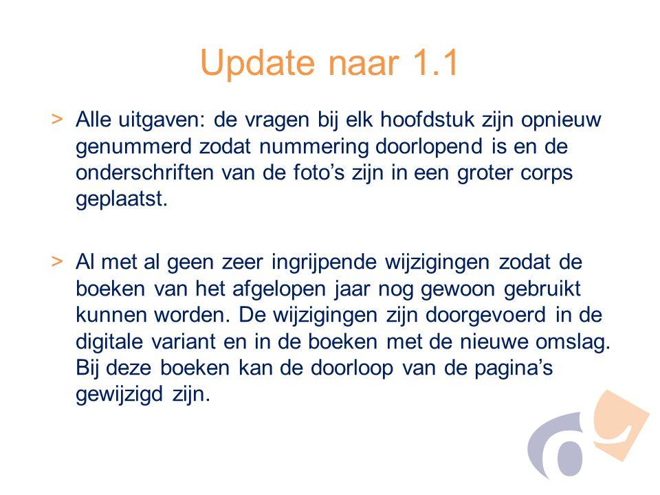 Update naar 1.1