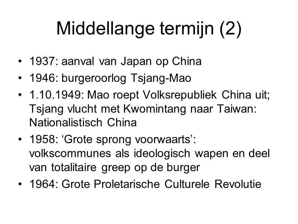Middellange termijn (2)