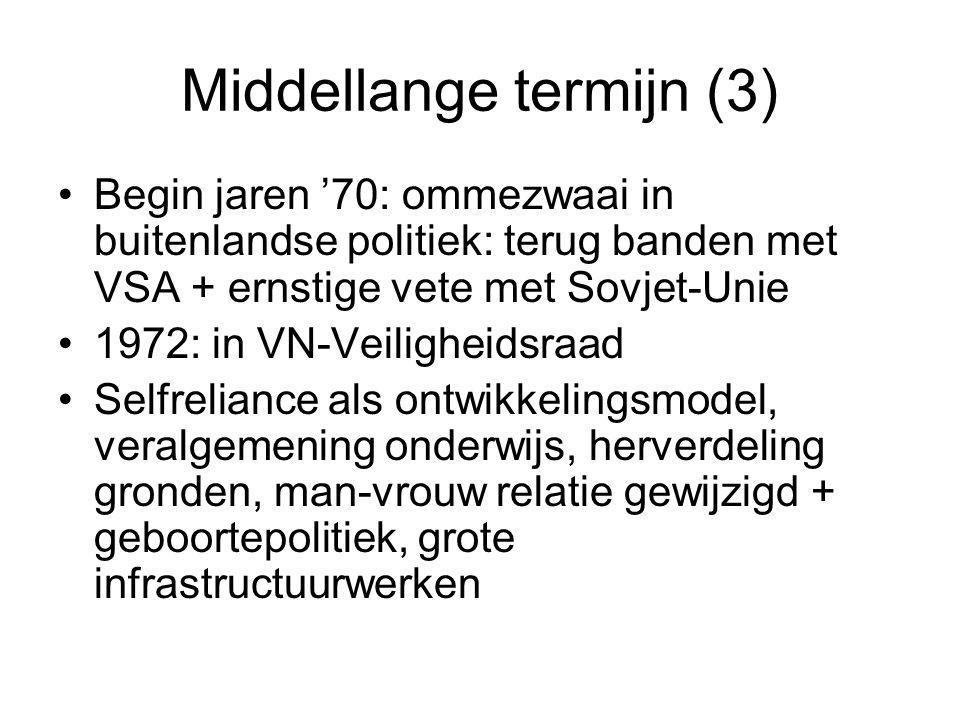 Middellange termijn (3)