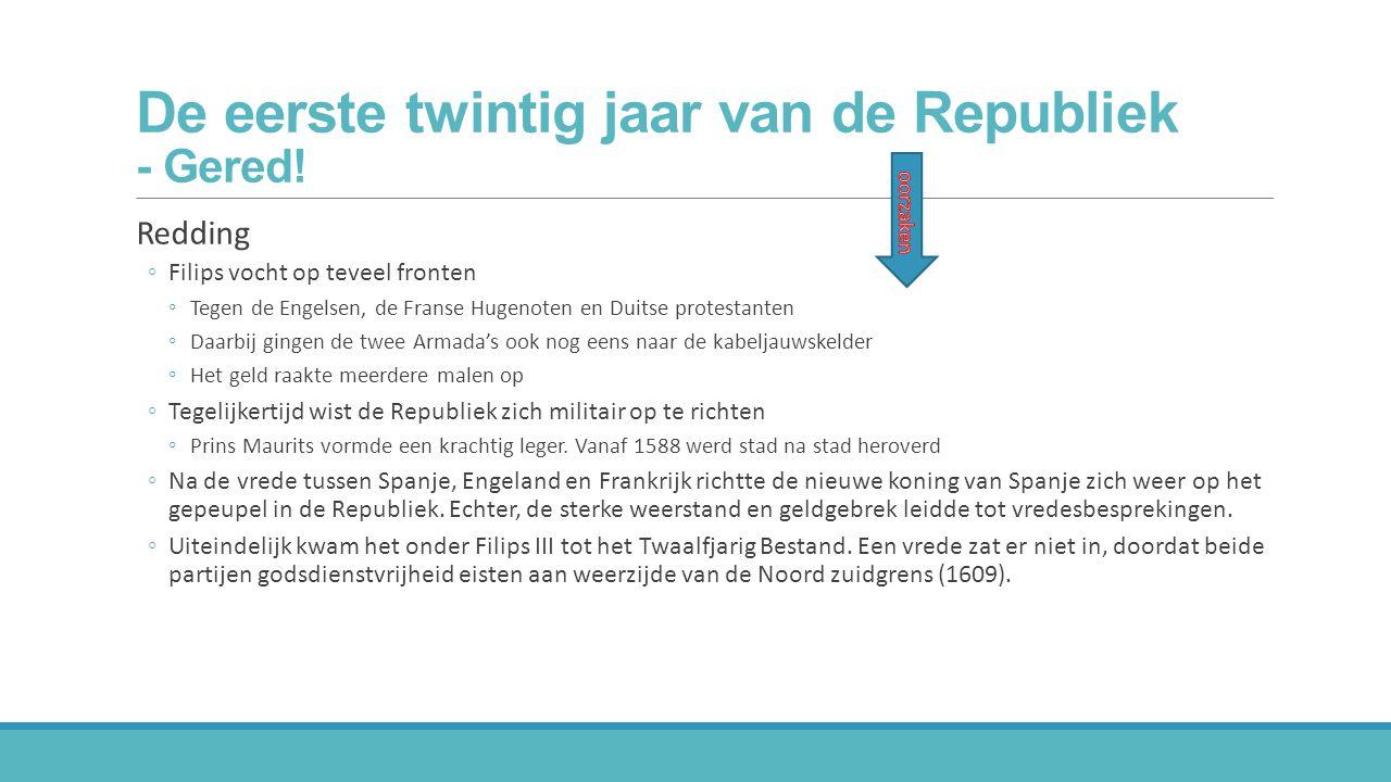 De eerste twintig jaar van de Republiek - Gered!