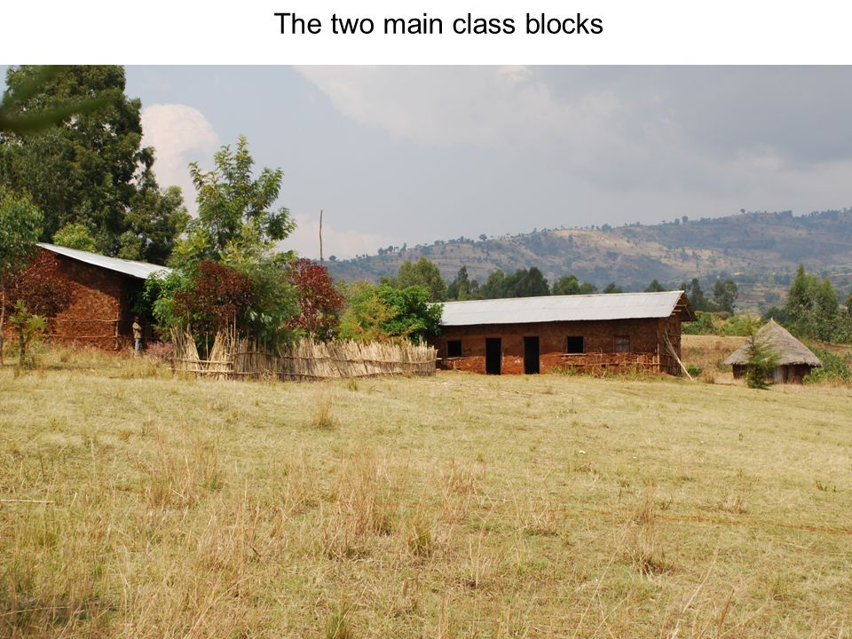 The two main class blocks