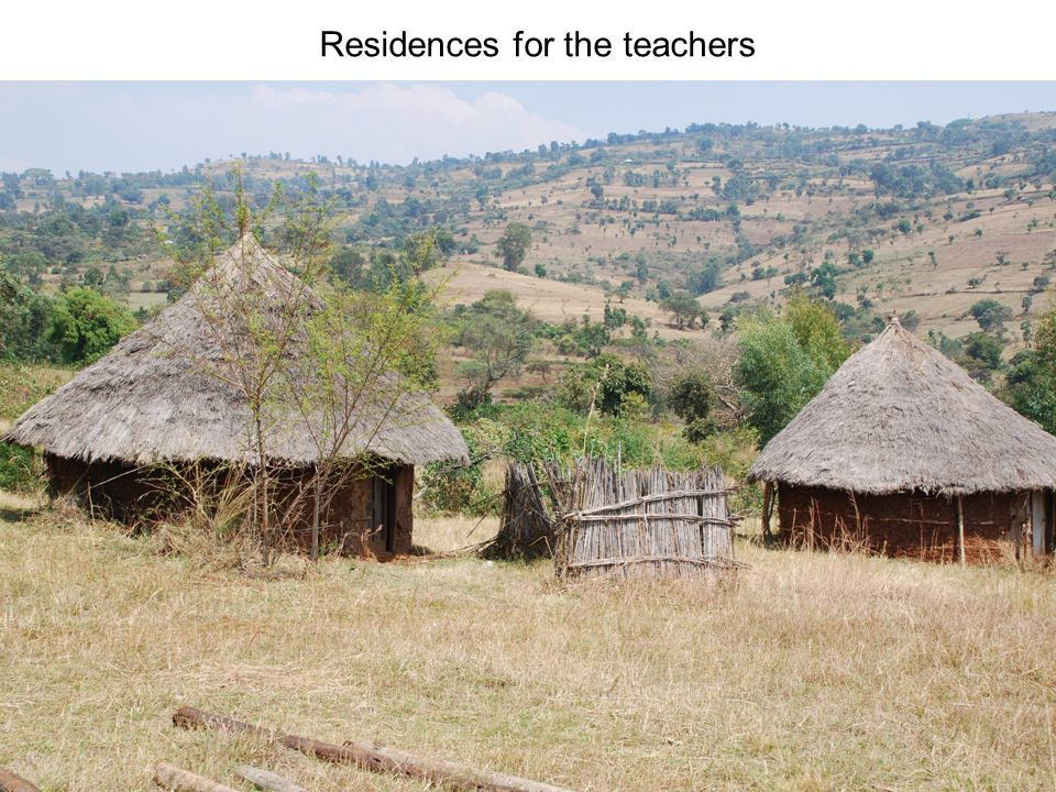 Residences for the teachers