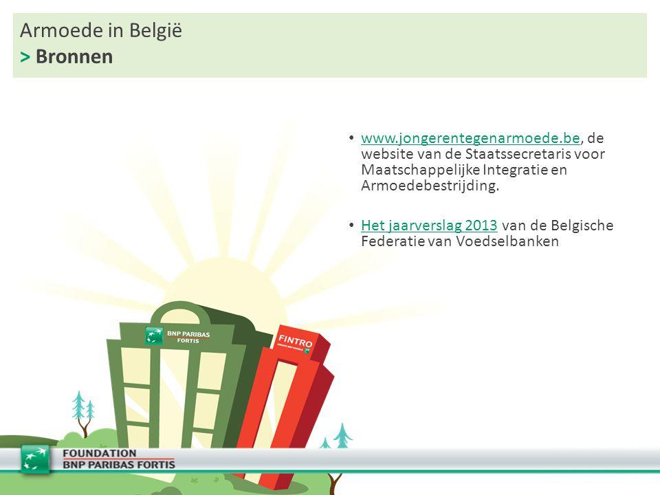 Armoede in België > Bronnen