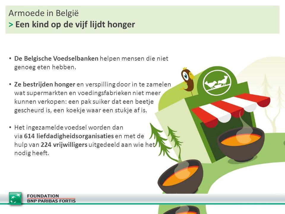 Armoede in België > Een kind op de vijf lijdt honger