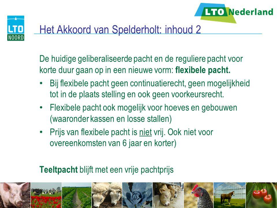 Het Akkoord van Spelderholt: inhoud 2