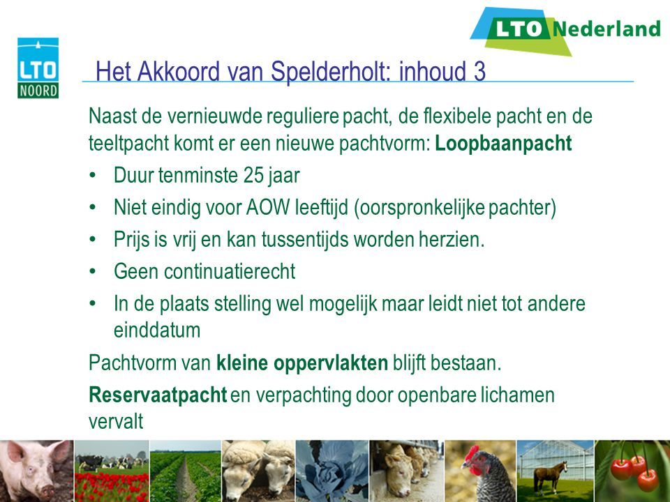 Het Akkoord van Spelderholt: inhoud 3