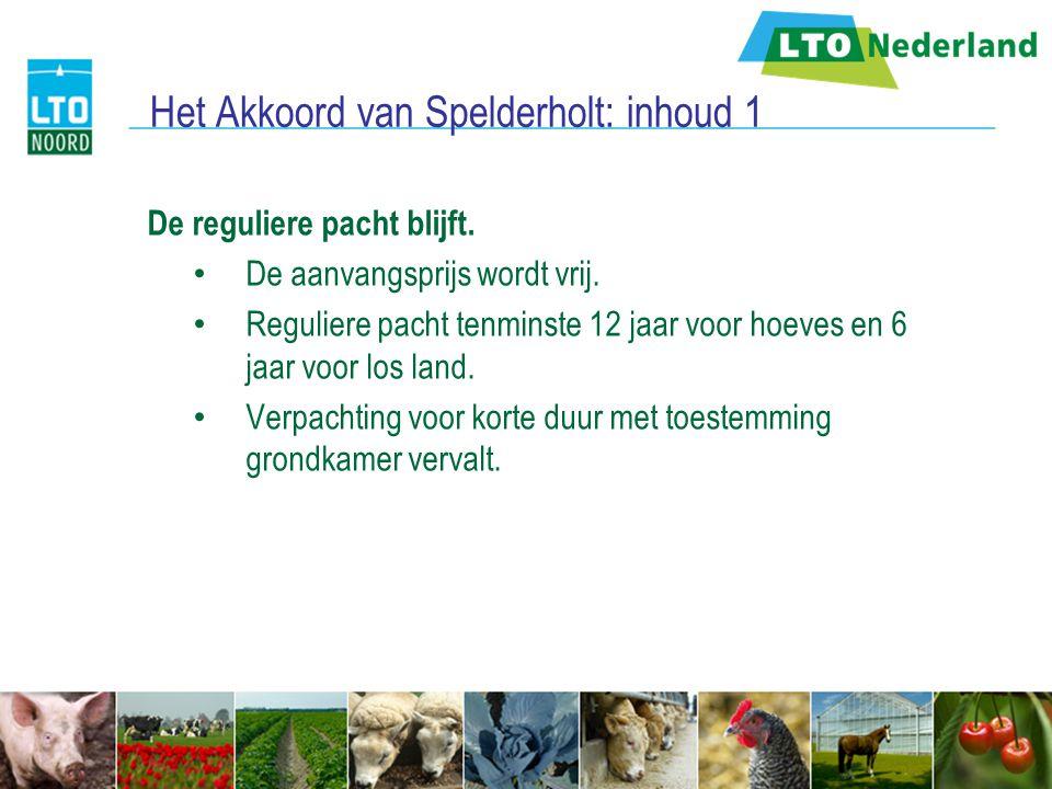 Het Akkoord van Spelderholt: inhoud 1