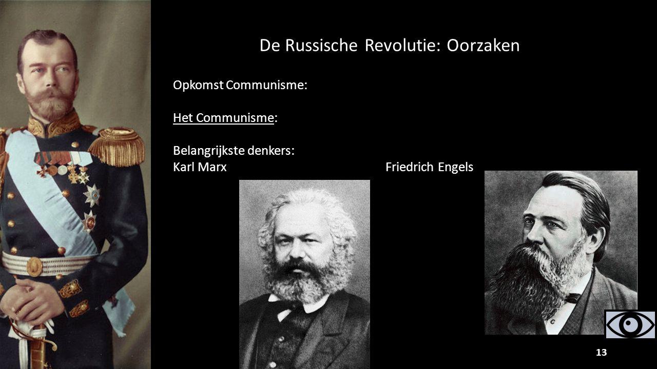 De Russische Revolutie: Oorzaken
