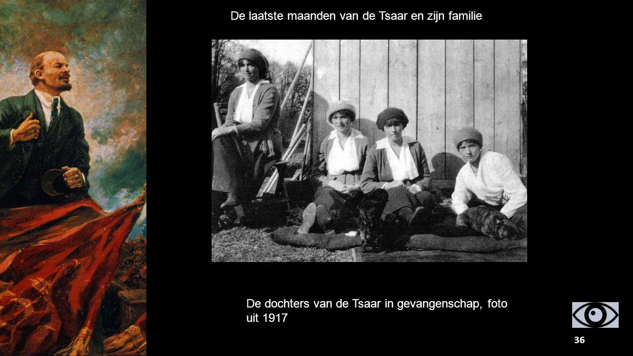 De laatste maanden van de Tsaar en zijn familie