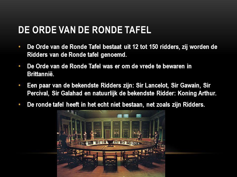 De Orde van de Ronde Tafel