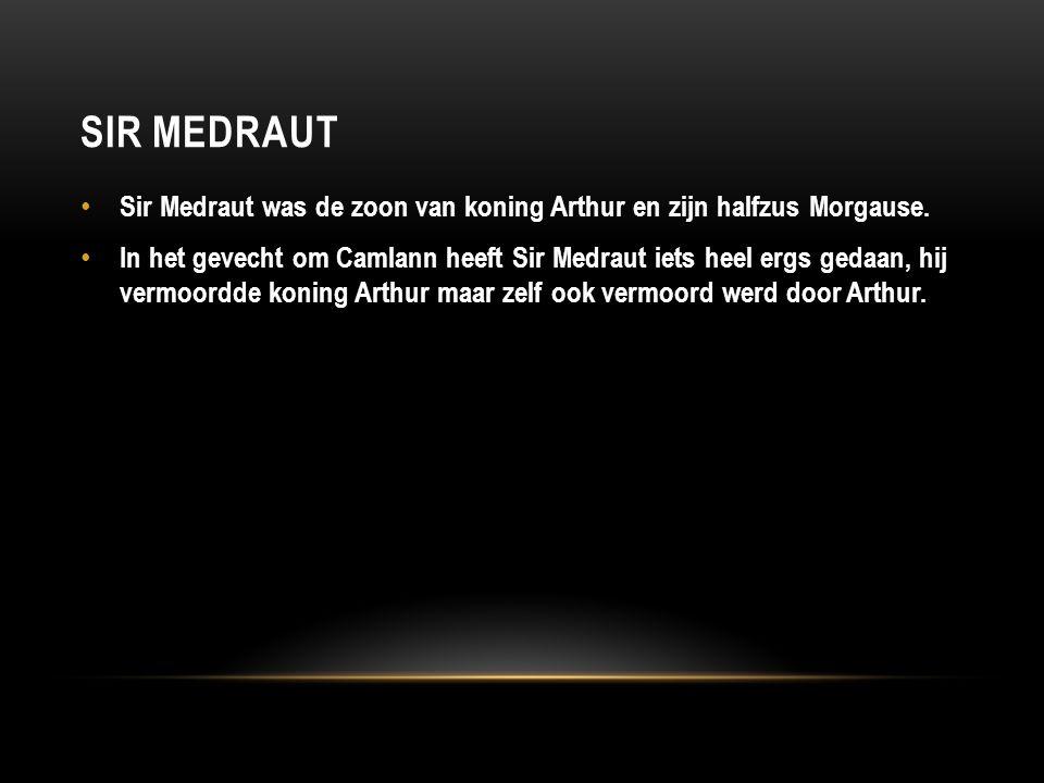 Sir medraut Sir Medraut was de zoon van koning Arthur en zijn halfzus Morgause.