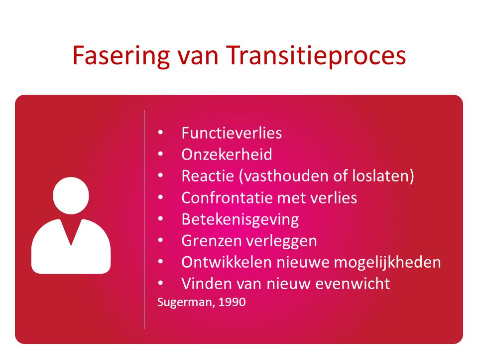 Fasering van Transitieproces