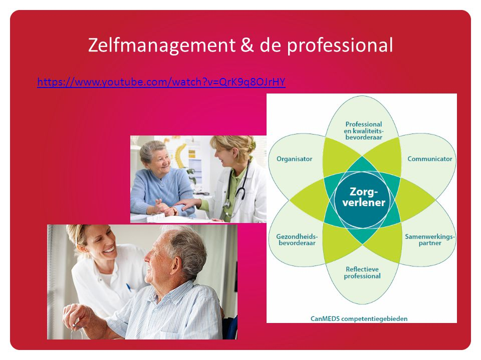 Zelfmanagement & de professional