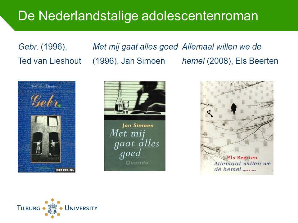 De Nederlandstalige adolescentenroman