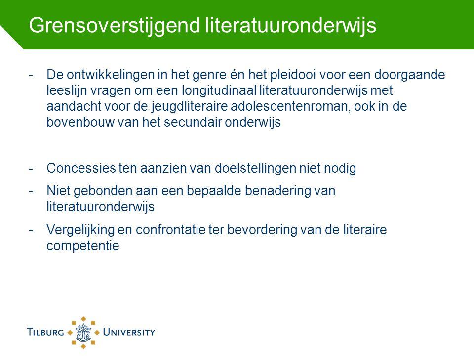 Grensoverstijgend literatuuronderwijs