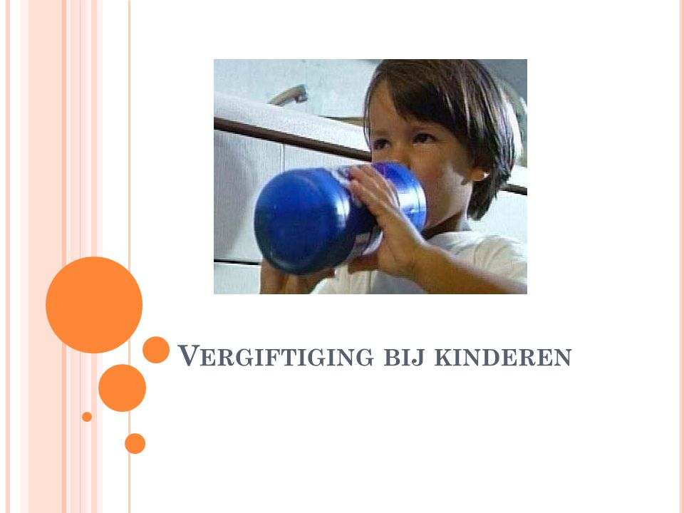 Vergiftiging bij kinderen