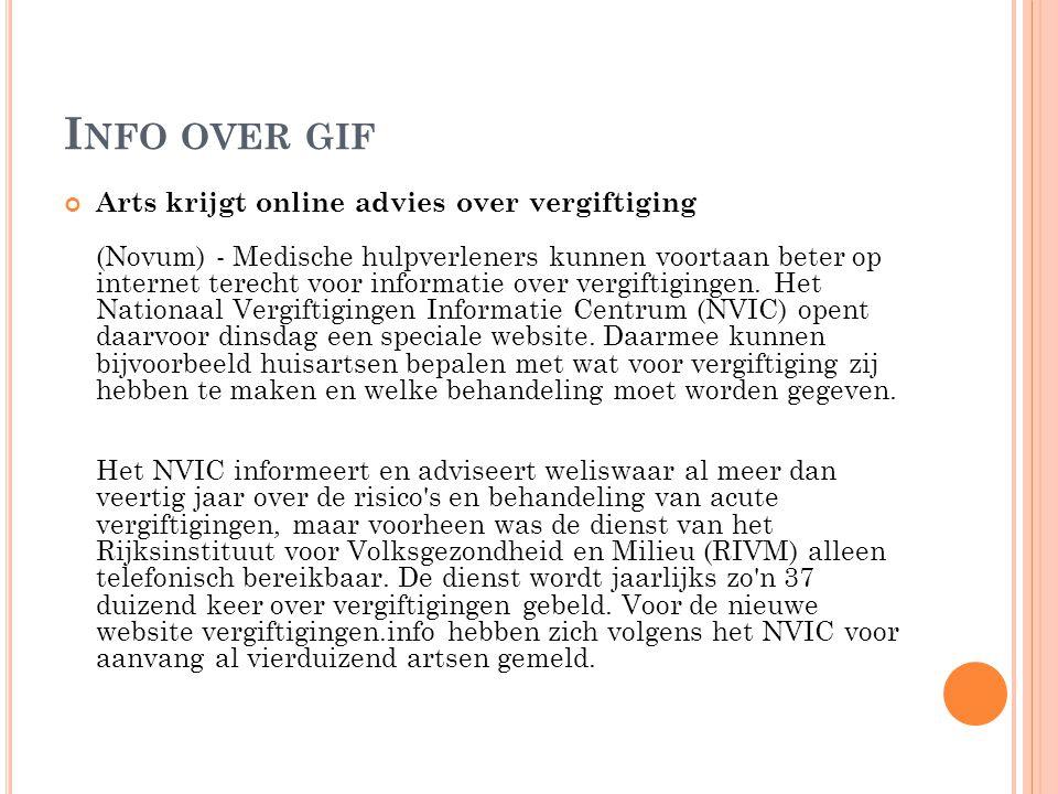 Info over gif