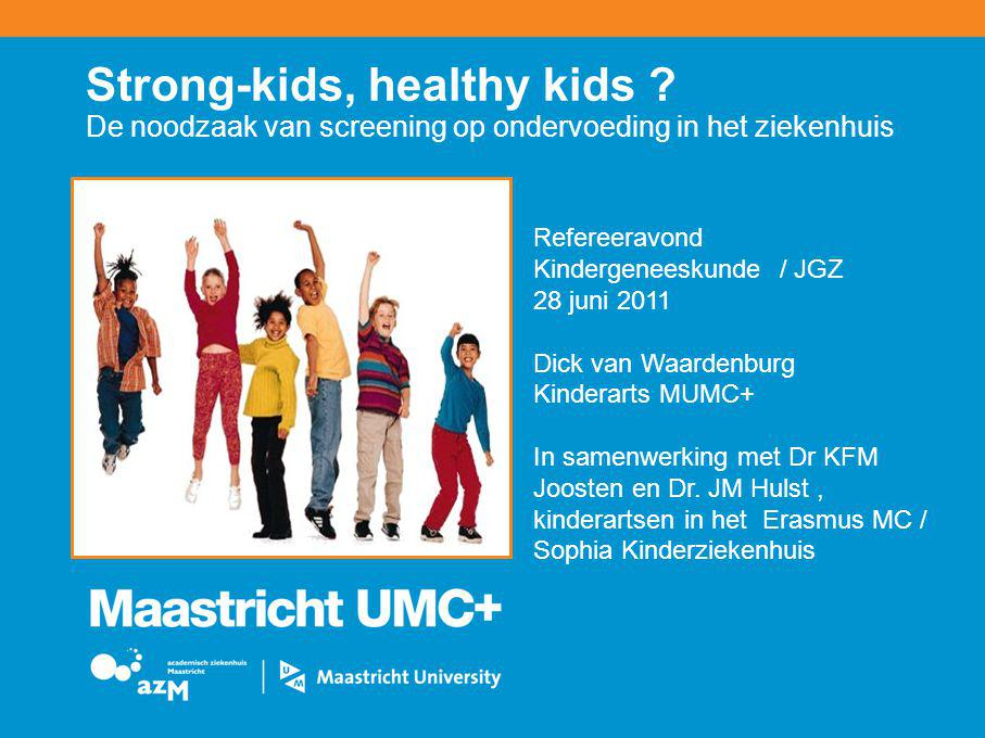Strong-kids, healthy kids