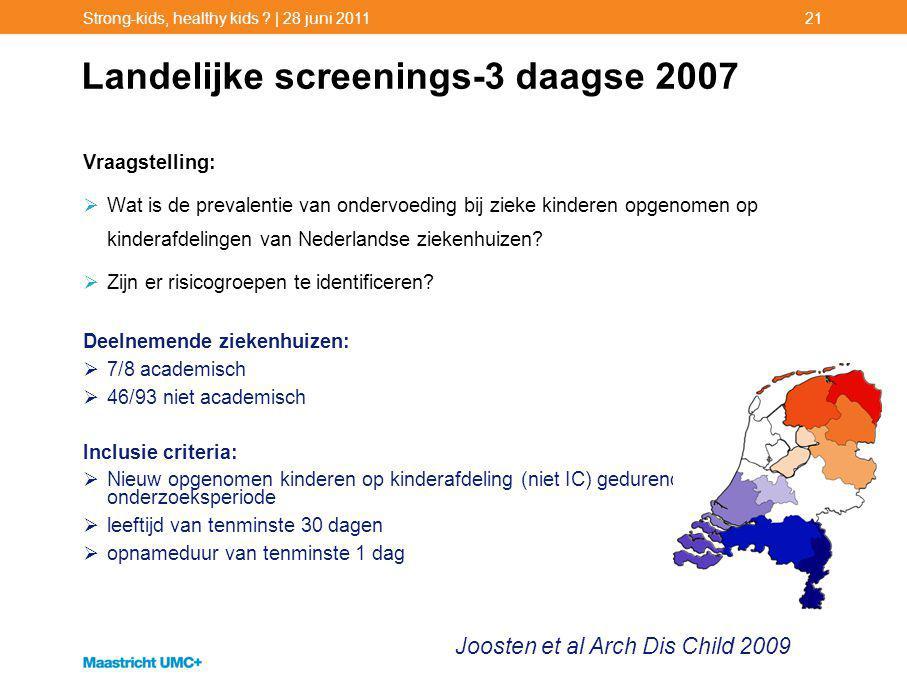 Landelijke screenings-3 daagse 2007
