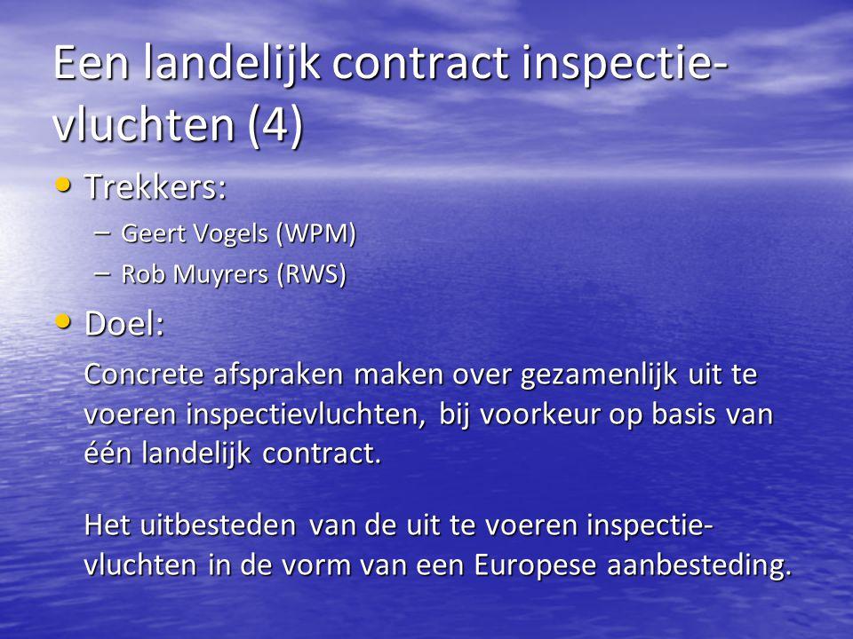 Een landelijk contract inspectie- vluchten (4)