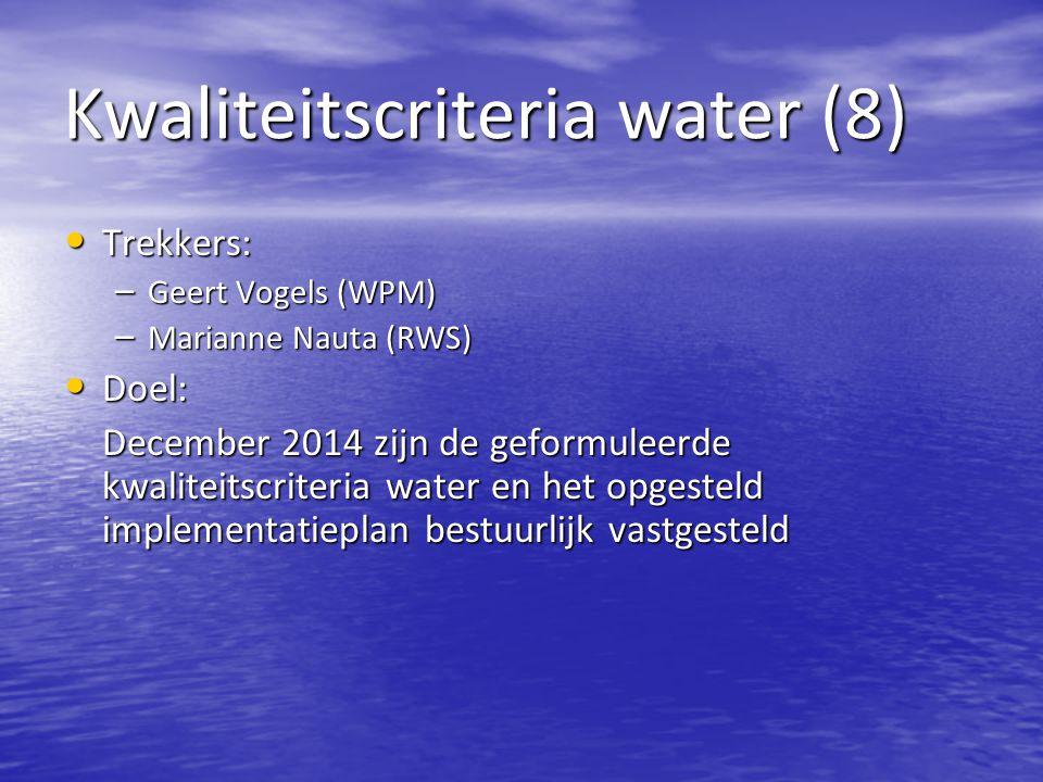 Kwaliteitscriteria water (8)