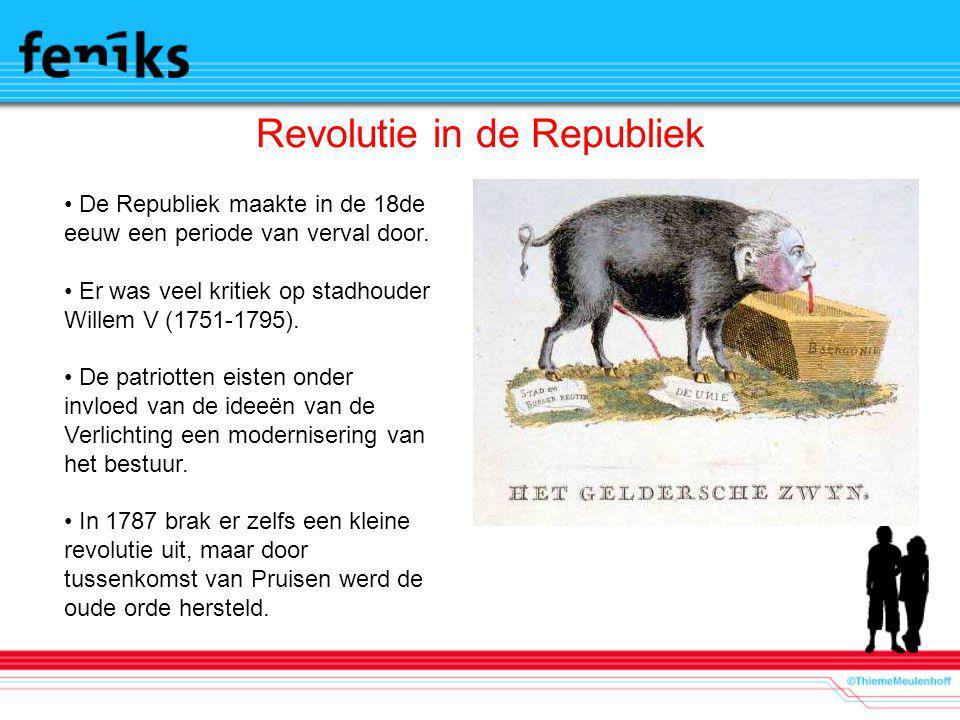 Revolutie in de Republiek