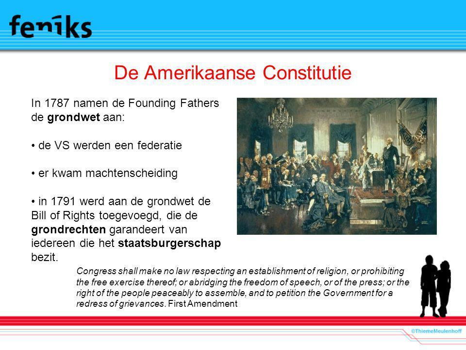 De Amerikaanse Constitutie