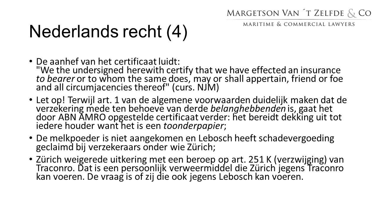 Nederlands recht (4)