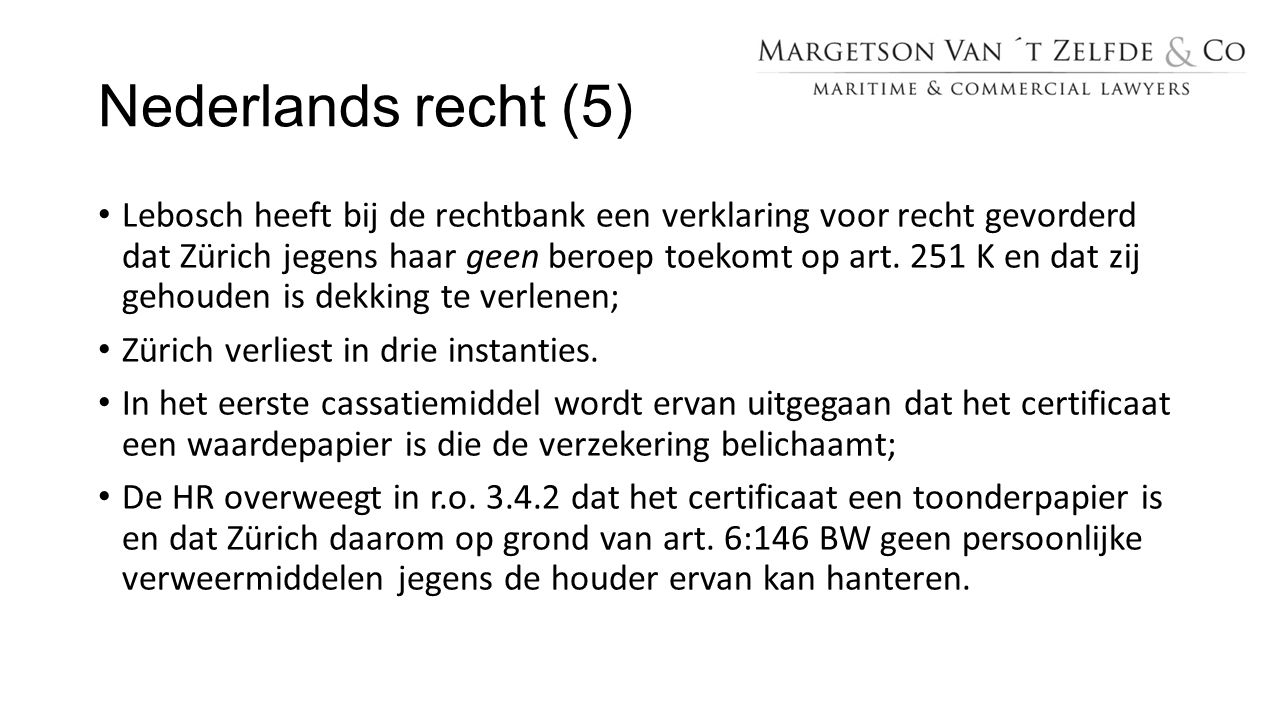 Nederlands recht (5)