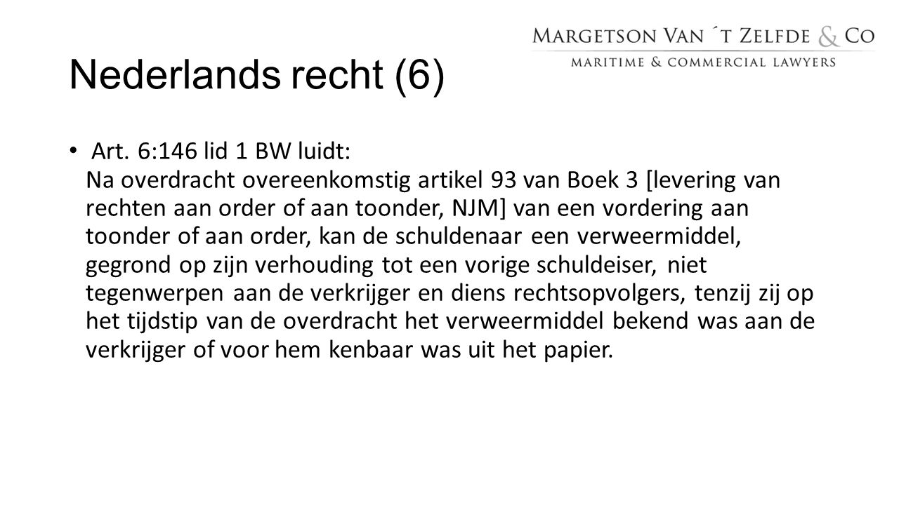 Nederlands recht (6)
