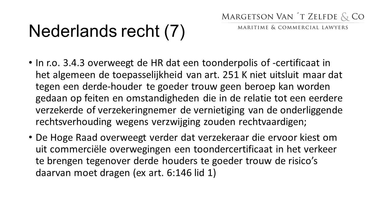 Nederlands recht (7)