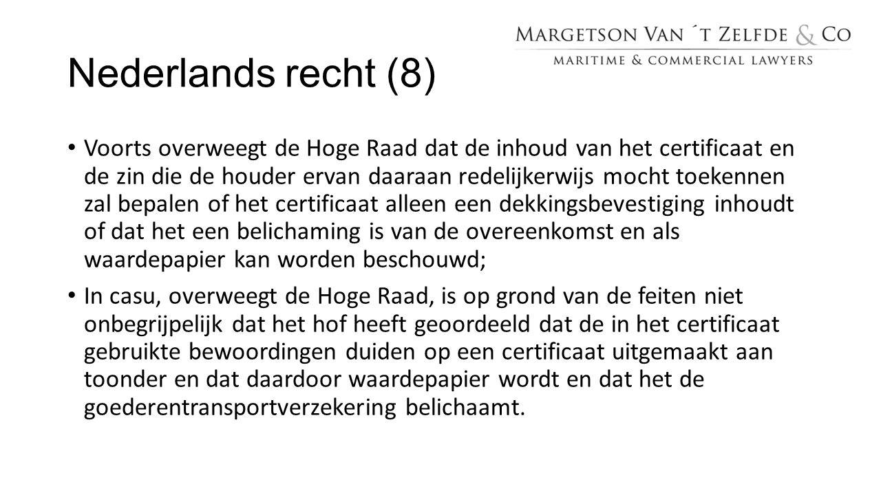 Nederlands recht (8)