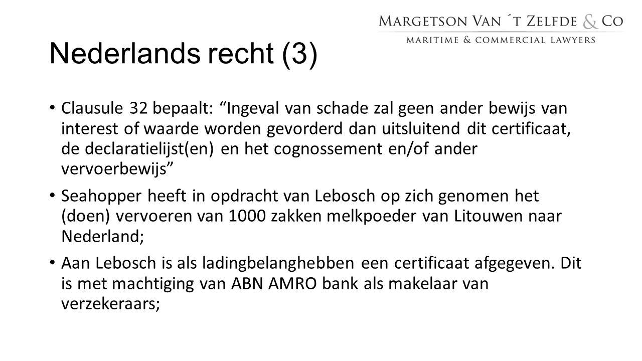 Nederlands recht (3)