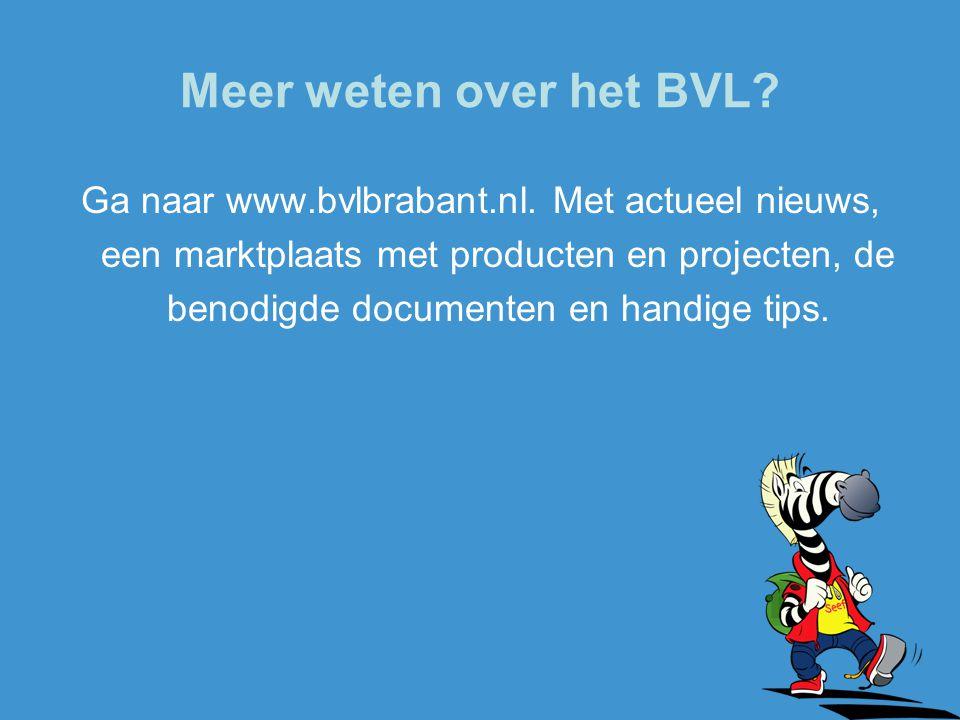 Meer weten over het BVL