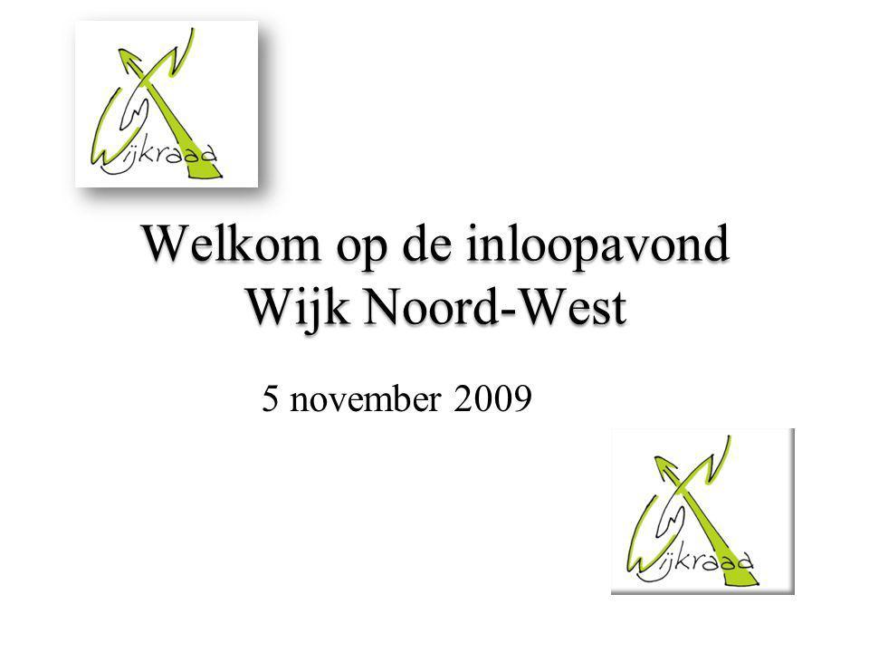 Welkom op de inloopavond Wijk Noord-West