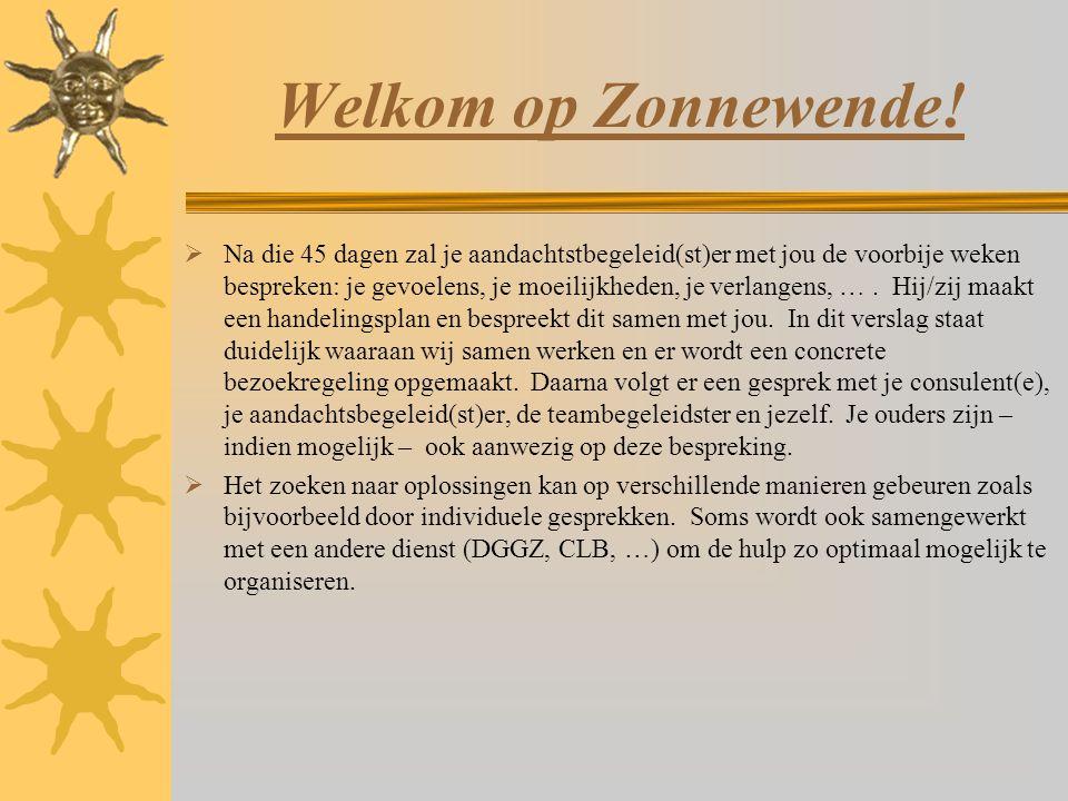 Welkom op Zonnewende!