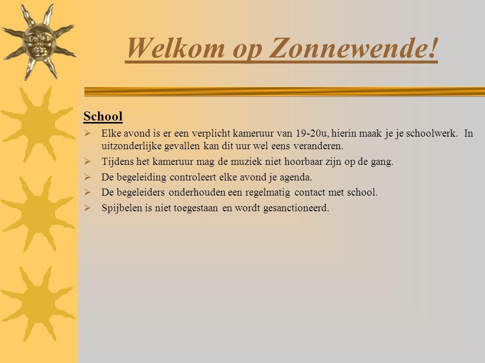 Welkom op Zonnewende! School