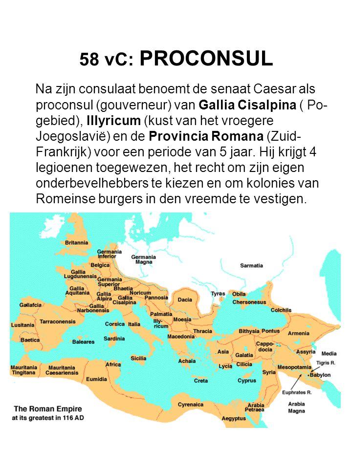 58 vC: PROCONSUL