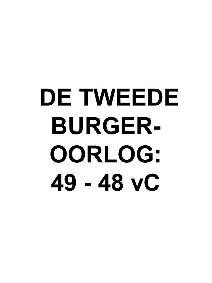 DE TWEEDE BURGER-OORLOG: 49 - 48 vC