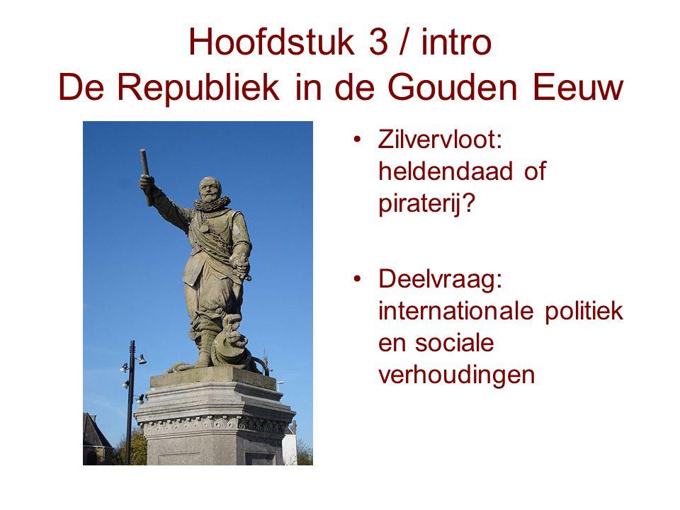 Hoofdstuk 3 / intro De Republiek in de Gouden Eeuw