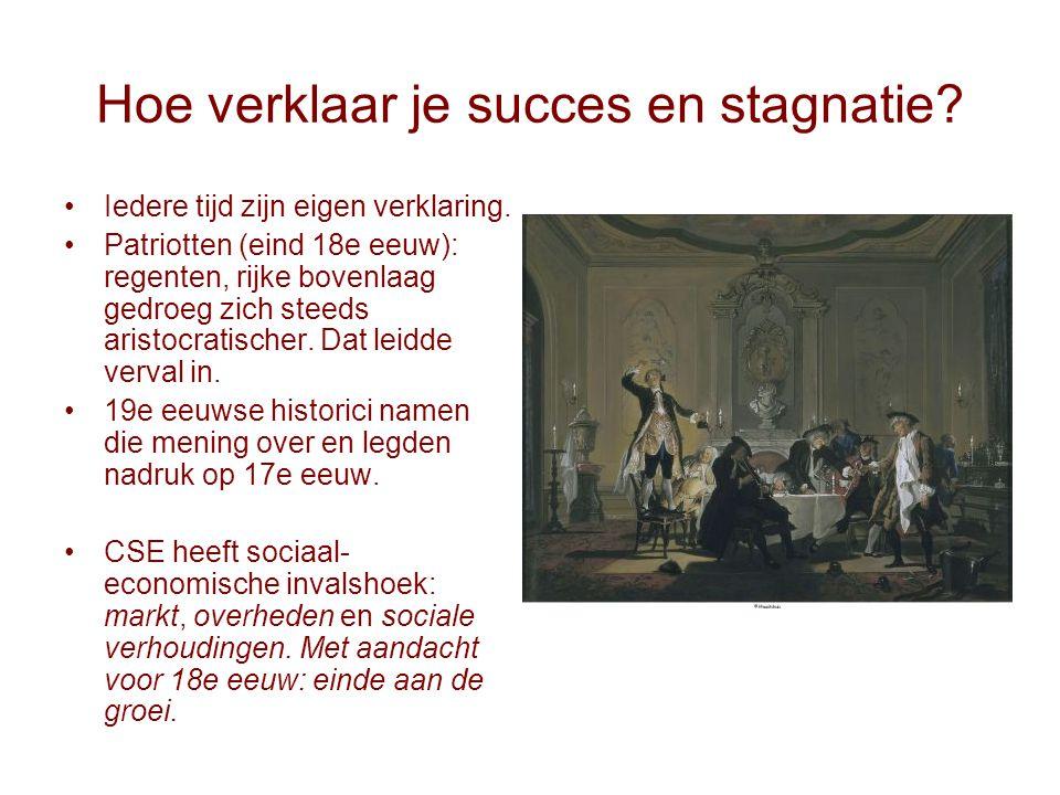 Hoe verklaar je succes en stagnatie