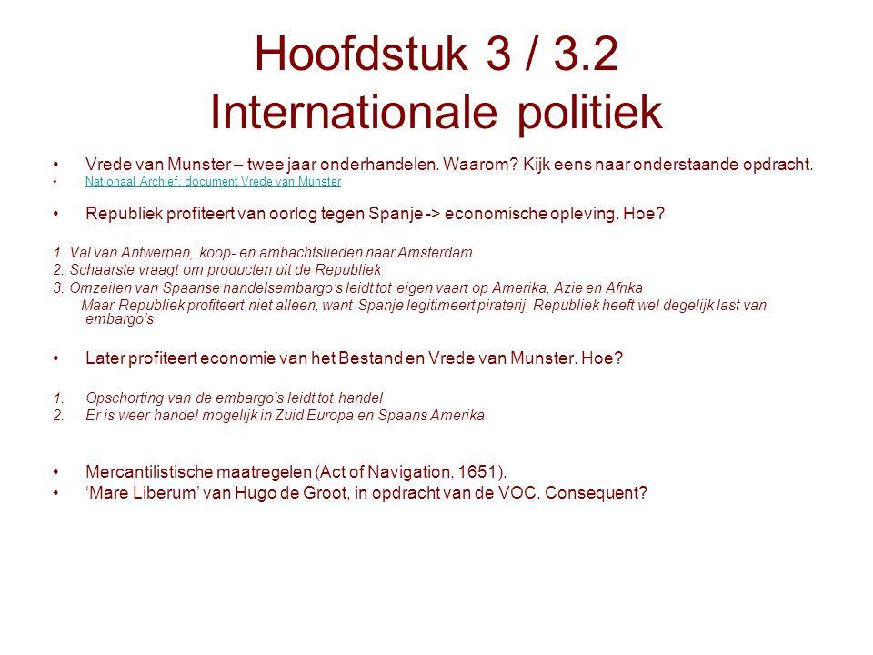 Hoofdstuk 3 / 3.2 Internationale politiek