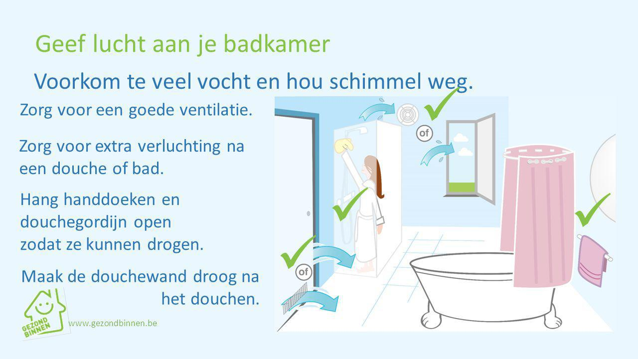 Geef lucht aan je badkamer
